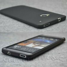 New Black Ultra Thin Mist hard case back cover for HTC one M7 801E