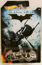 BAT POD MOTORCYCLE BIKE THE DARK KNIGHT BATMAN 4/6 HOT WHEELS 2015