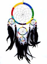 Large Feathers Handmade Dream Catcher car  wall hanging decoration ornament c-5