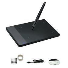 "Huion 420 4""x2.23"" Graphics Tablet Design Art Drawing with Pen for Windows Mac"