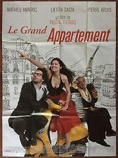 Affiche LE GRAND APPARTEMENT Mathieu Amalric LAETITIA CASTA Arditi 120x160cm *D