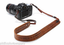 Ona Presidio Antigue Cognac Leather Handcrafted Camera Straps - Free US Shipping