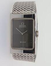 Vintage Ladies Omega Automatic Deville Steel C.661 Watch + Solid Silver Bracelet