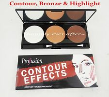 Profusion Contour, Bronze, Blush & Highlight Make up Palette for Professional!