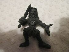 Loose Mezco Prototype Test Shot Hellboy II BPRD Buddies Prince Nuada Black No #