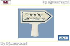 "Panneau Michelin En Béton "" Camping, Golf... "" Rétro 87 - SAI 8435 - Ech 1/87"