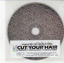 (DS618) Cut Your Hair, Mad Love / Sweet Sensation - DJ CD