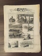 """""""THE GRAPHIC"""" (A Beautifully Illustrated British Weekly Newspaper)--Aug. 27,1881"""