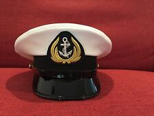 REPUBLIC OF VIETNAM NAVY - NEW CPO  (HA SI QUAN) VISOR  HAT- WHITE