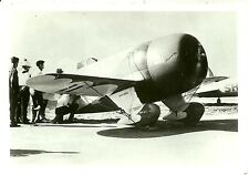 "GEE BEE #11 - 5"" X 7"" BLACK & WHITE GRANVILLE RACING AIRPLANE PHOTOGRAPH"