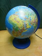 Light Up Globe Earth Lamp Untested