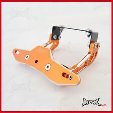 Burnt Orange Motorcycle Motorbike Number Licence Plate Holder Bracket