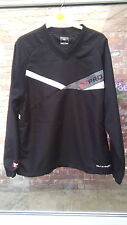 COTTON TRADERS CT PRO 80 BLACK RUGBY WINDY JACKET SIZE SMALL VGC