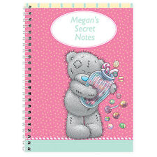 Personalised Me To You Bear Candy Girl Notebook Girls Birthday School Gift Idea