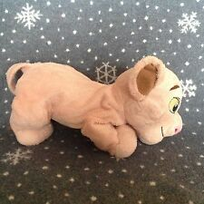 "DISNEY STORE THE LION KING SIMBA FLOPPY SOFT PLUSH TOY 13"" LONG"