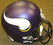 Minnesota Vikings Riddell NFL Football Deluxe Full Size Helmet New in Box