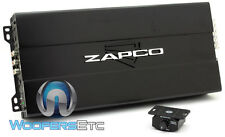 ZAPCO ST-105D BT BLUETOOTH 5CHANNEL 1,070W RMS SUBWOOFERS SPEAKERS AMPLIFIER NEW