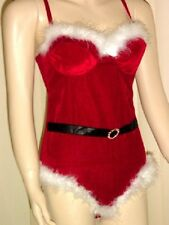 Sexy Lingerie..Naughty  Red Santa  Helper Costume (S)
