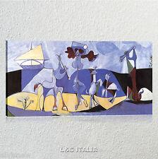 Picasso La gioia di vivere QUADRO STAMPA TELA ARTE ARREDO CASA QUADRI MODERNI