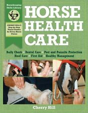 Horse Health Care New Book Wound 100 Equestrian Skills Injection examination
