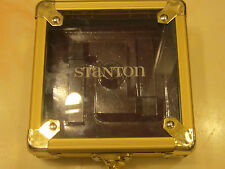 STANTON FLIGHT CASE GOLD SUITABLE GROOVEMASTER, TRACKMASTER, DISCMASTER + CARTS