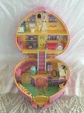1992 Bluebird LUCY LOCKET Polly Pocket RARE LARGE PLAYSET Compact