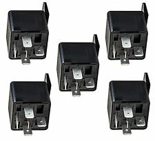 5 x 5 Pin 12v 40A AUTO RELAYS For Aux Lights Horns etc Car Boat Van Motorbike