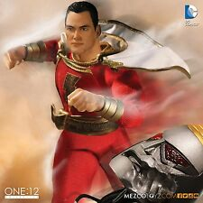 MEZCO TOYZ  ONE:12 COLLECTIVE DC Universe:Shazam  6 Inch figure IN STOCK NOW!!!!