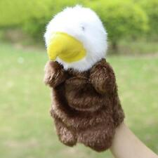 Soft Eagle Hand Puppets Plush Doll Baby Educational Hand Cartoon Animal Toy