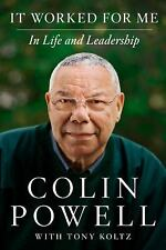 It Worked for Me: In Life and Leadership, Powell, Colin, Good Condition, Book