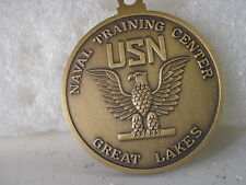 US Navy Great Lakes Training    medal w/out ribbon