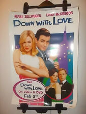 down with love Film Movie UK Poster renee zellweger  ewan mcgregor