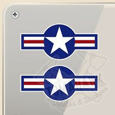 PEGATINA US MILITARY ROUNDEL  VINILO VINYL STICKER DECAL AUFKLEBER AUTOCOLLANT