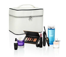 Lancome 7 Piece Make Up set Packed in stylish train case,2016 Edition $202 Value