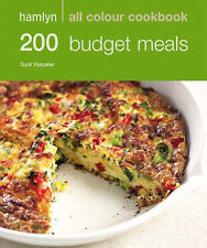Hamlyn All Colour Cookbook 200 Budget Meals, Sunil Vijayakar