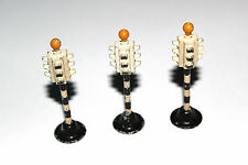 Dinky Toys (x3) Three Faced Traffic Lights / Signals # 47 With Beacons !!