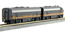 Kato N Scale F7A F7B Locomotive Set NP #6012D/6012C DC DCC Ready 1060423