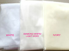 wv16 BNWT 3m 2tier Soft Tulle Cathedral Length Wedding Veil Comb White Ivory