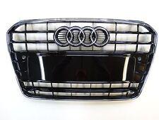 Original Audi A5 S5 Radiator grille black shiny with Chrome rim - 8T0853651H T94