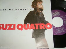 "7"" - Suzi Quatro / Kiss me goodbye & Instrumental - MINT 1991 # 4277"