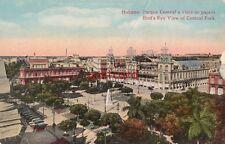 HABANA CUBA Parque Central a vista de pajaro, Havana, Central Park, CINZANO