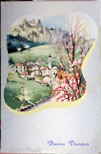 1959 BUONA PASQUA Paesaggio di Montagna- ediz.SAEMEE S/239