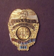 KENTUCKY state  trooper police mini badge HAT PIN