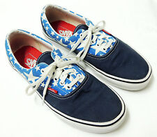 Vans Authentic Lace Up American Flag Blue Star Sneakers Men's 8 Women's 9.5 USA