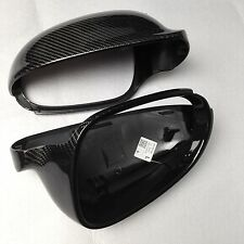 for VW GOLF 5 V MK5 car mirror cover cap carbon fiber surface  Replacement