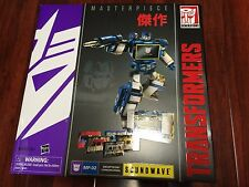 *NEW HASBRO Transformers Masterpiece MP-02 GENERATIONS SOUNDWAVE W/ 5X CASSETTES