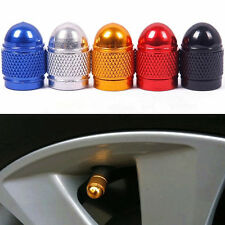 8Pcs Universal Tyre Wheels Colorful Aluminium Valve Caps For Car Bike Cycle Van