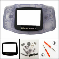 GBA Nintendo Game Boy Advance Replacement Housing Shell GLASS Screen Len Glacier
