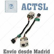 Conector DC Power Jack para HP Sleekbook 15-B109WM (with cable)