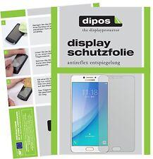 6x Samsung Galaxy C7 Pro Schutzfolie matt Displayschutzfolie Folie dipos